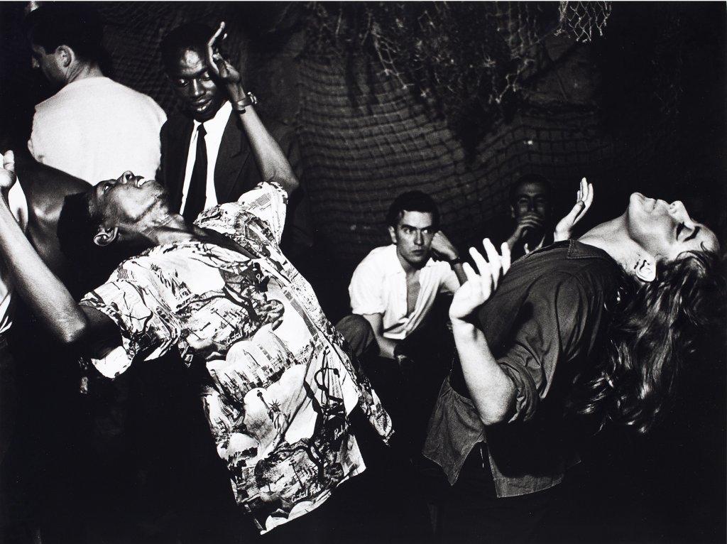 Ed van der Elsken, Vali Myers (Ann) danse à La Scala, Paris, 1950. Nederlands Fotomuseum Rotterdam