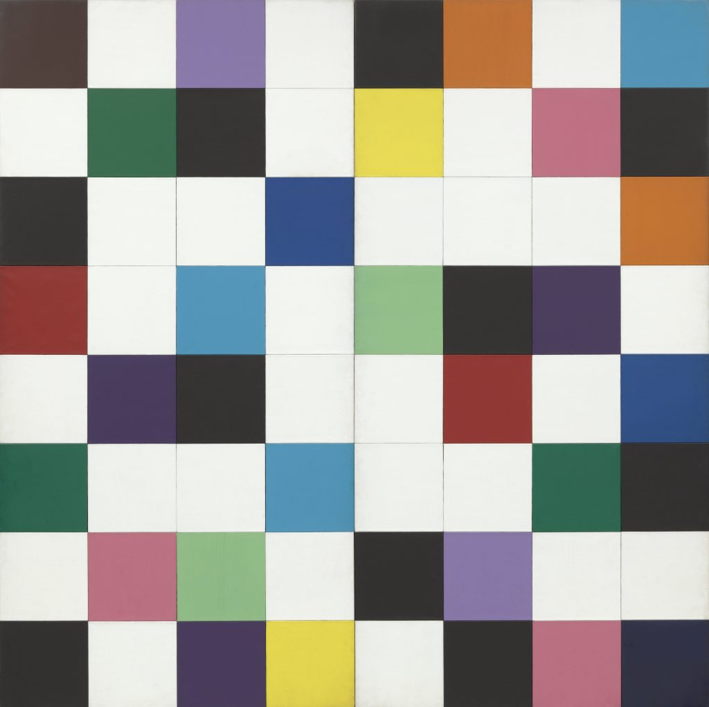 Ellsworth Kelly (American, 1923–2015) Colors for a Large Wall 1951