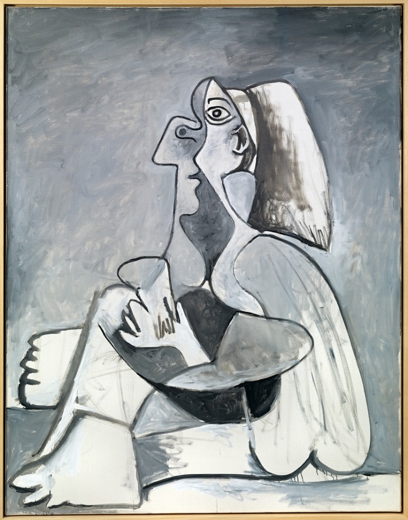 Femme assise, Pablo Picasso,1962