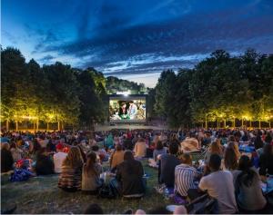Films sous les étoiles, domaine de Saint Cloud, expo in the city, cinéma plein air