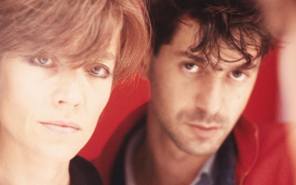 Françoise Hardy et Étienne Daho, 1985