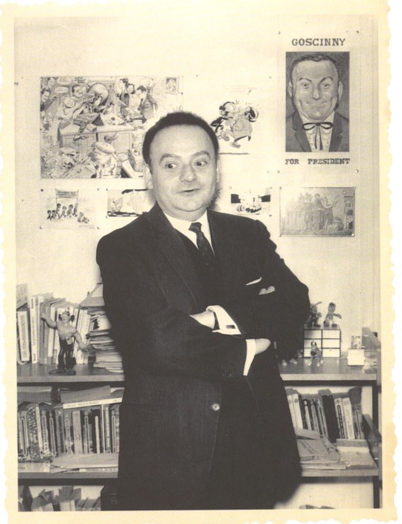 René Goscinny, portrait, René Goscinny, Musée d'art et d'histoire du Judaïsme