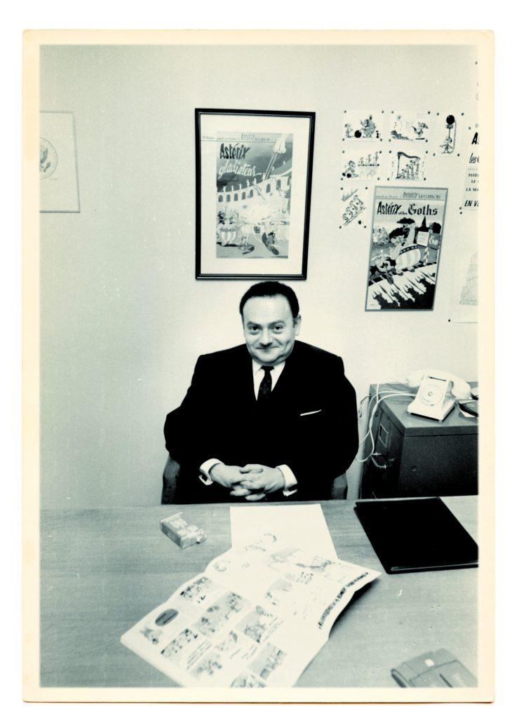 René Goscinny à son bureau, René Goscinny, Musée d'art et d'histoire du Judaïsme