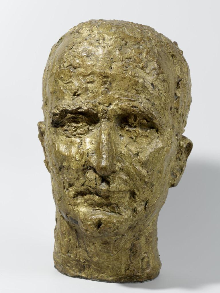 Etienne HAJDU(István Hajdu, dit) (1907 –1996) Georges Pompidou, 1953-1954 Bronze 36 x 22 x 27 cm Collection Alain Pompidou