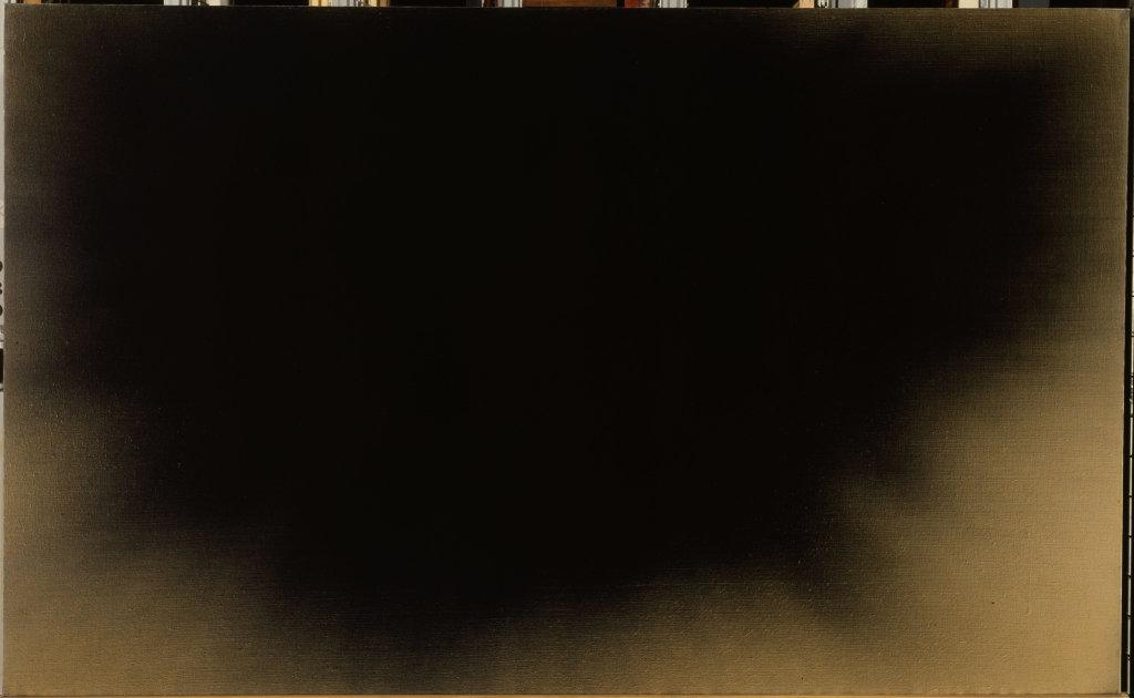 Hans HARTUNG (1904 - 1989) T 1966-R4, [1966] Collection Centre Pompidou, Paris Musée national d'art moderne/Centre de création industrielle Don de l'artiste en 1970 Crédit photo : © Centre Pompidou, MNAM-CCI / Dist.RMN-GP/ Droits réservés © Adagp, Paris, 2017