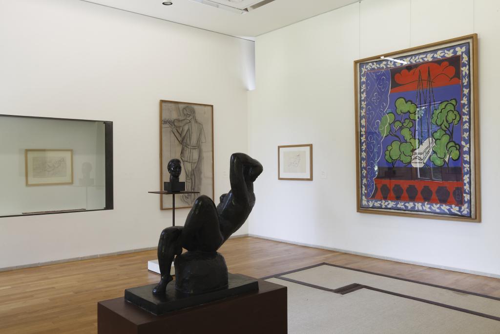 Vue du musée Matisse