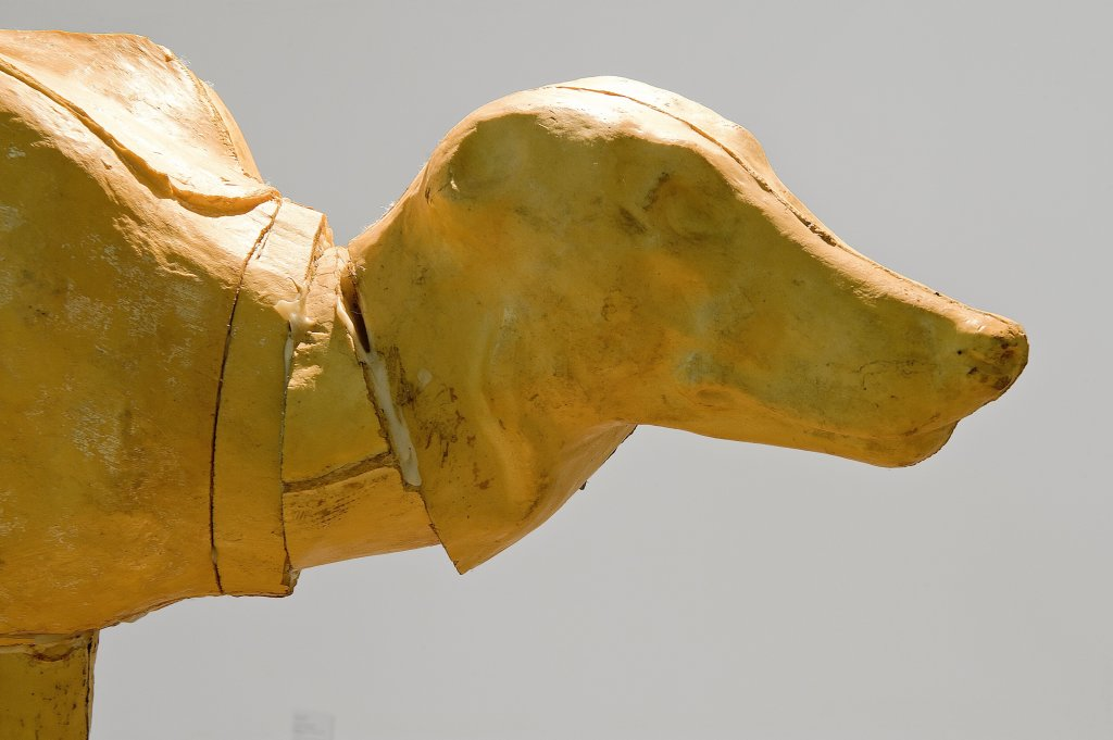 Nauman, Butt to Butt detail, Face à face, musée Fabre