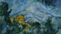 Paul Cezanne, Montagne Sainte-Victoire et Chateau Noir, vers 1904-1906 - Tokyo-Paris, Chefs d'oeuvre du Bridgestone Museum au Musee de l'Orangerie