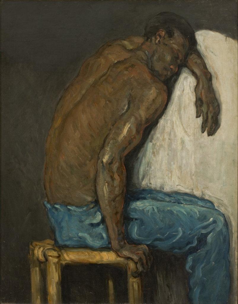 Paul Cézanne, Le Nègre Scipion, 1866-1868, Monet Collectionneur, Musée Marmottan-Monet