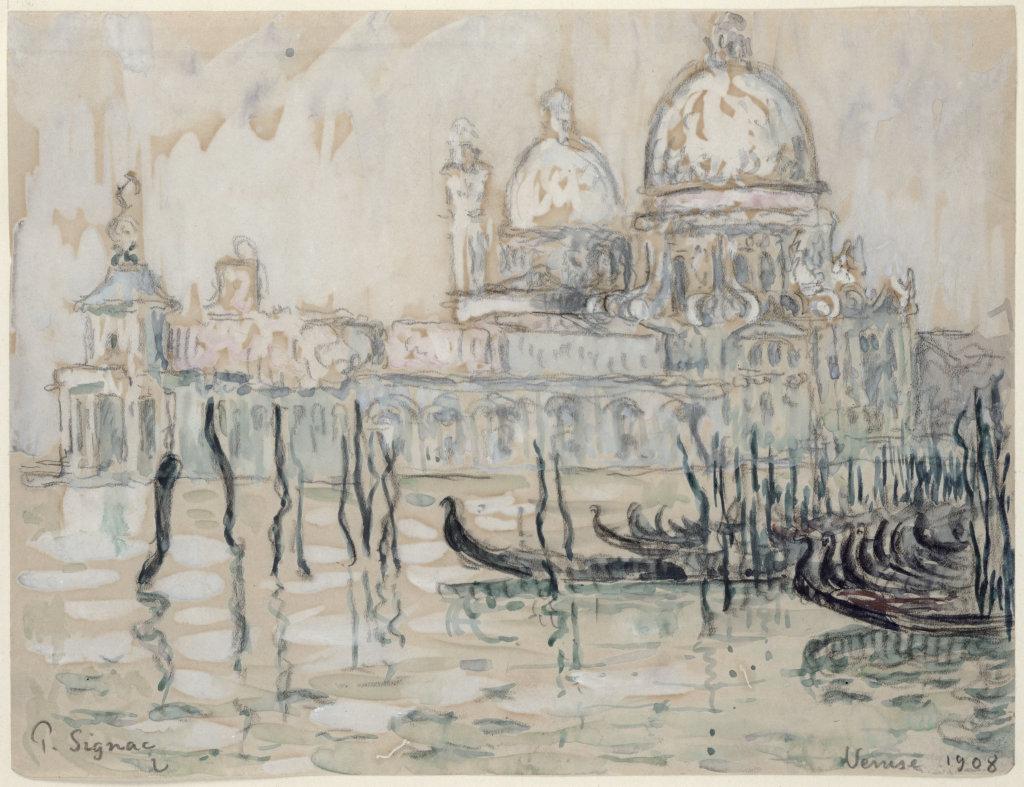 Paul Signac, Venise, 1908, Monet Collectionneur, Musée Marmottan-Monet