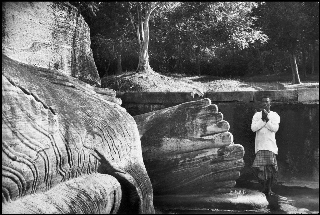 Henri Cartier-Bresson, Polonnaruwa, Ceylan, Mysée Yves Brayer