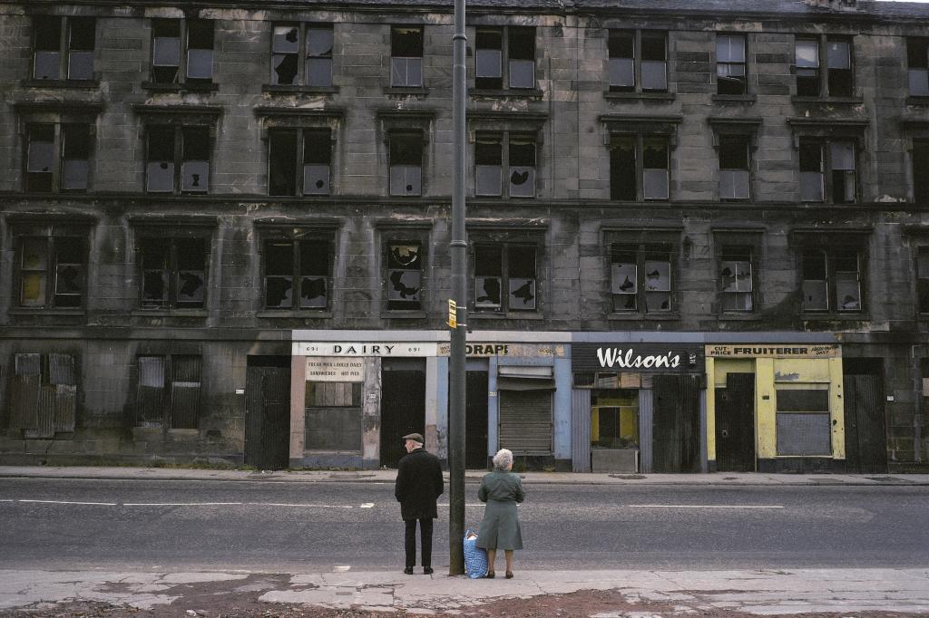 Raymond Depardon, Glasgow, Écosse, 1980