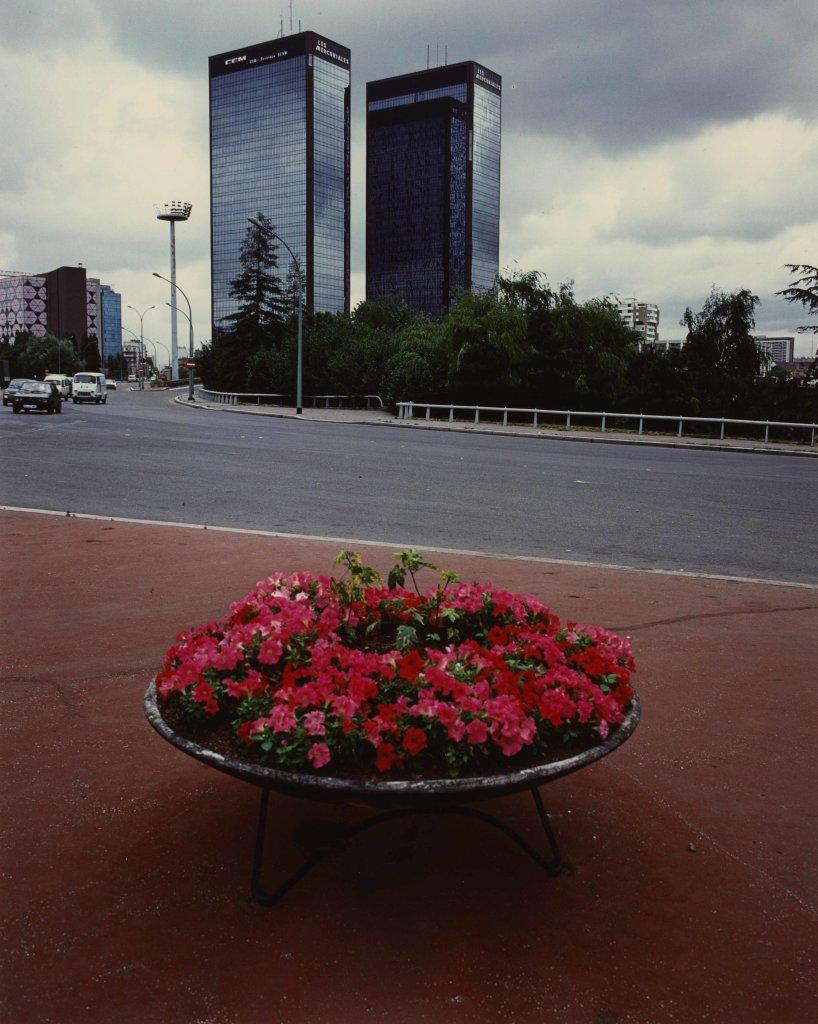 Robert Doisneau, Tours Mercuriales, Porte de Bagnolet, Bagnolet (Seine-Saint-Denis), 1984