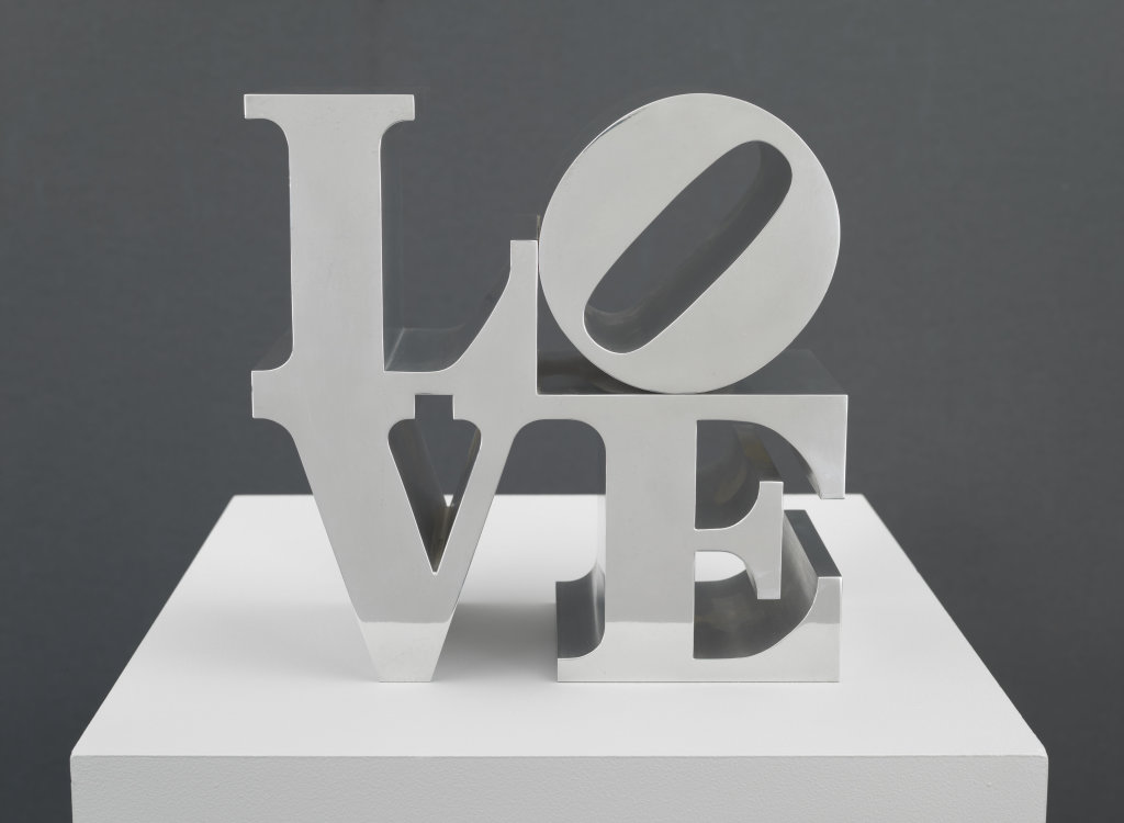 Robert Indiana, Love, 1968 - Exposition Pop Art, Icons that matter au Musée Maillol