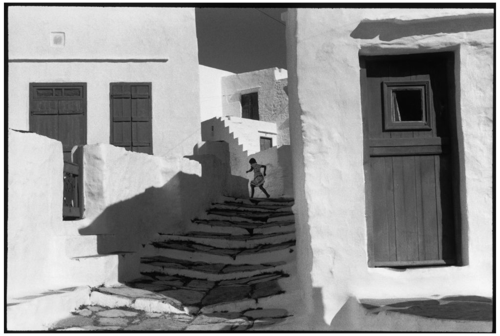 Henri Cartier-Bresson, Cyclades. Island of Siphnos, Musée Yves Brayer