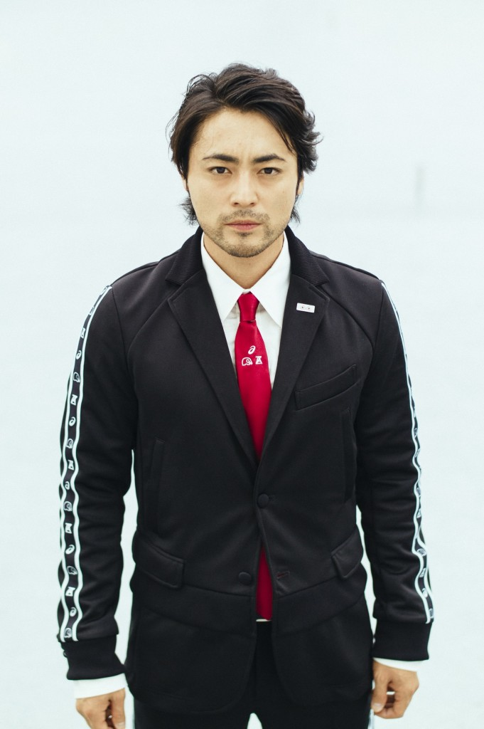 ANOFUKU ASICS x x ANREALAGE Jersey meets suits 1