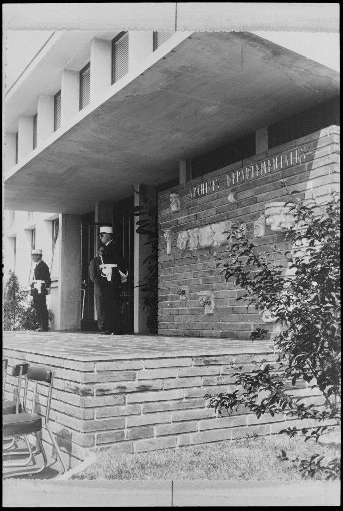Les Archives départementales de la Manche reconstruites après les bombardements de 1944, Exposition Chaos, Archives Nationales