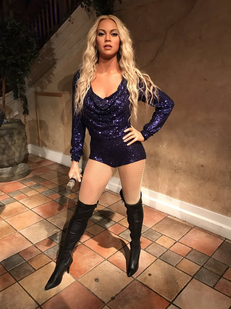 Beyonce, Musée Thussauds, New York