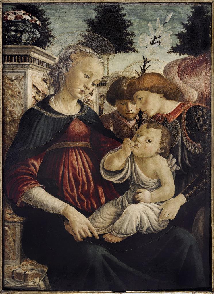 Botticelli Vierge à l'enfant
