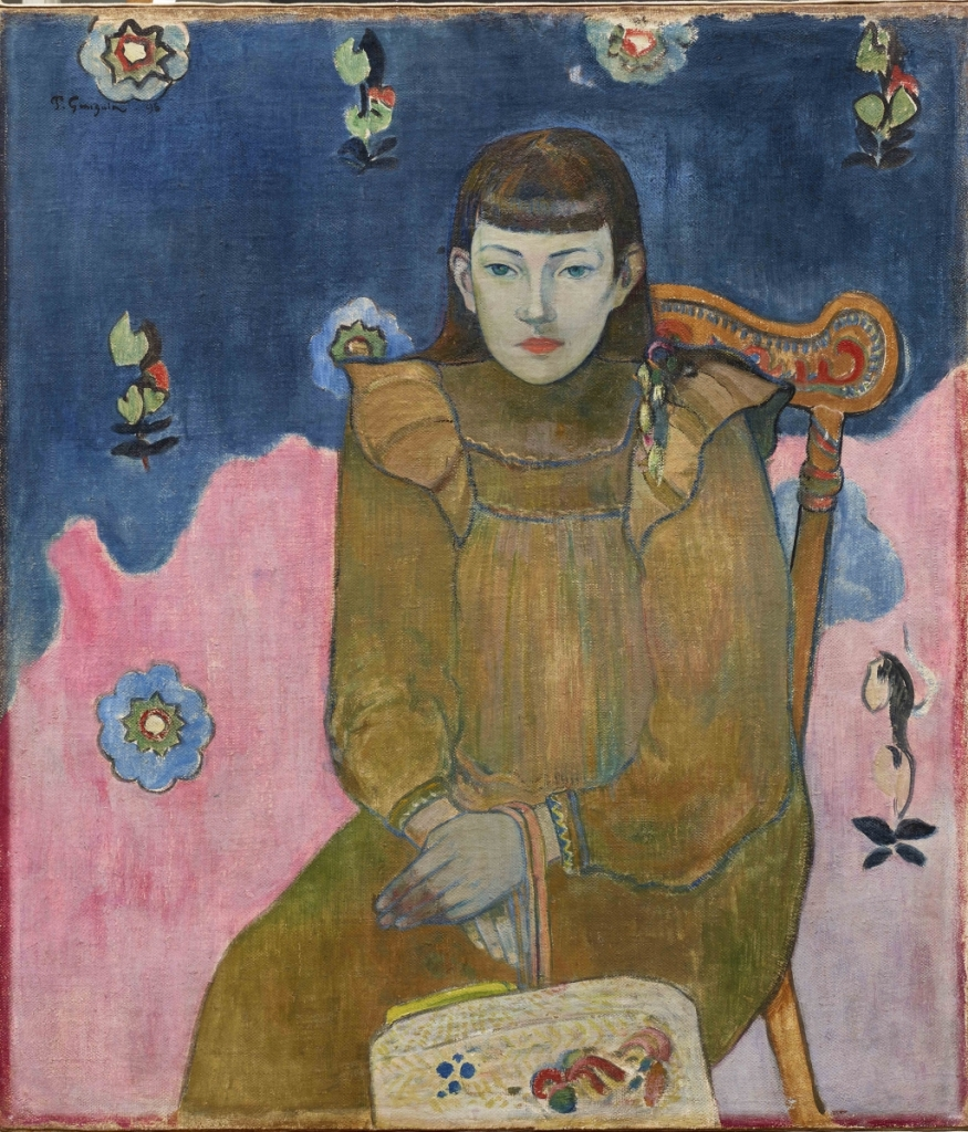 Gauguin jeune fille vaite jeanne goupil 1896