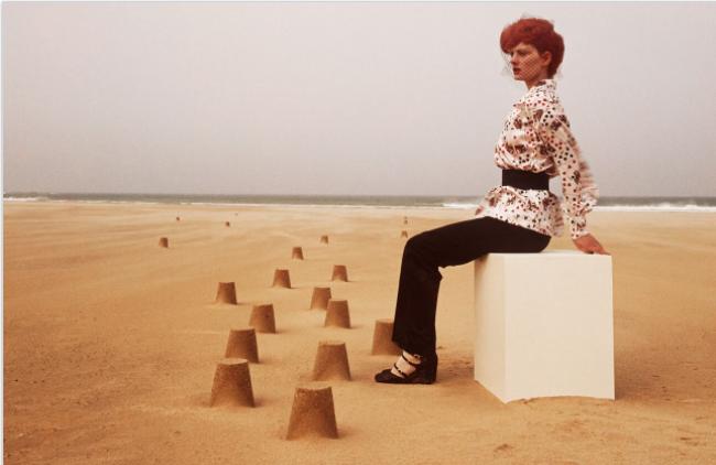 Guy Bourdin, Vogue Paris 1971, Chloé collection automne-hiver 1971