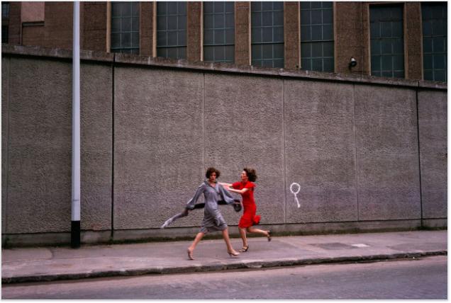 Guy Bourdin, Vogue Paris 1975, Chloé collection automne-hiver 1975