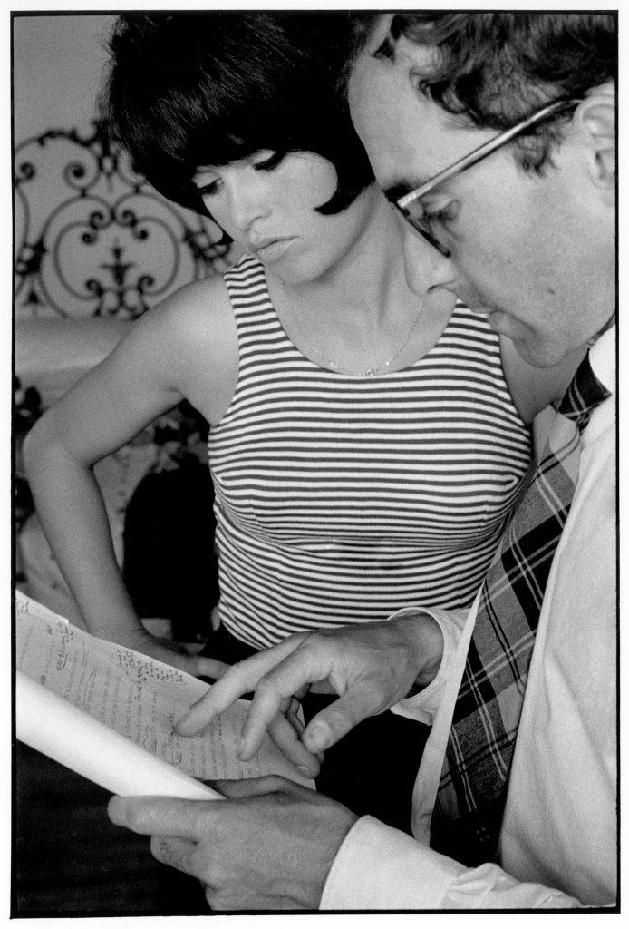 Jean-Luc Godard, Brigitte Bardot,1963