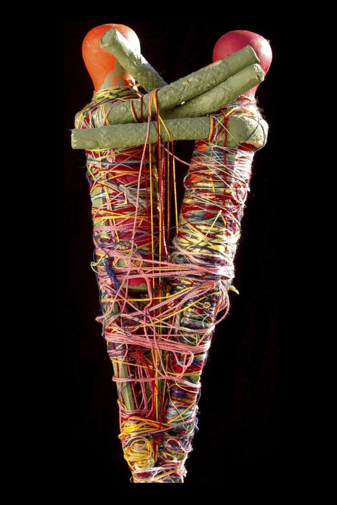 Rosa Zarkikh, Reflection, 2005 - Exposition Inextricabilia, Enchevêtrements magiques à la Maison Rouge - Courtesy Museum of Outsier Art, Bar