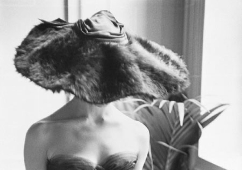 Dior, Fur Hat, Mark Shaw, Galerie MR14