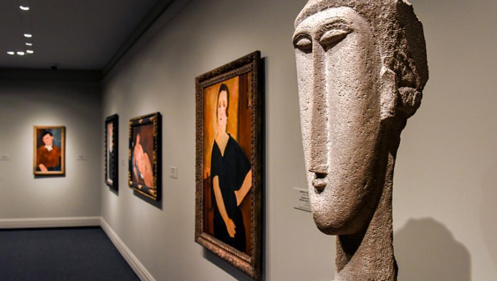 Modigliani, contrefaçon, faux, Gènes, Italie, Expo in the city, expo city, © RFI