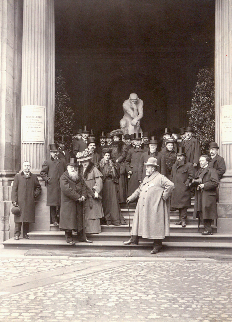 Reiber Personnalités inauguration exposition 1907
