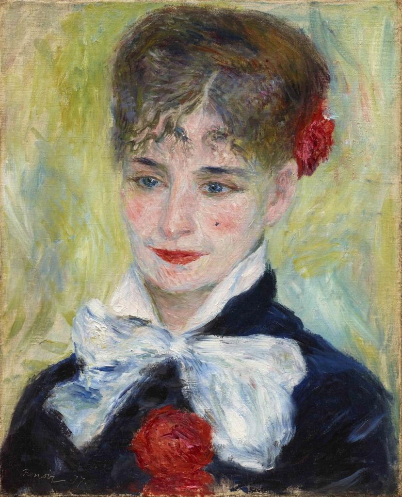 Renoir portrait roumaine mme iscovesco 1877