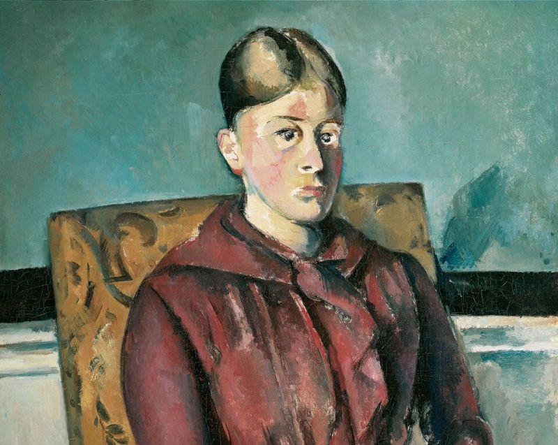 Cézanne, Madame Cézanne au fauteuil jaune, tableau de Bâle