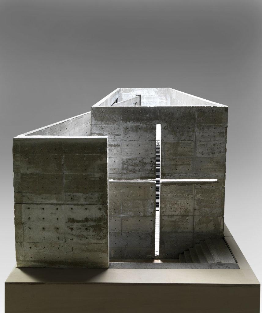 Eglise de la lumière, Osaka, Japon (1987-1989) : maquette