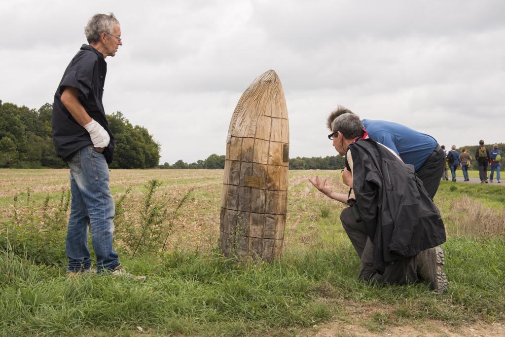Donnée de l'enquête sur le chemin du maïs 2014-2016, Animer le paysage, Musée de la chasse et de la nature
