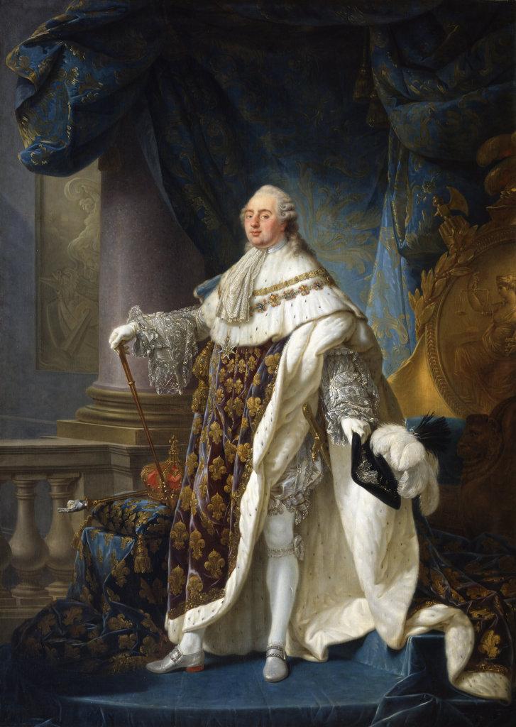 Antoine-François Callet, Louis XVI, 1779 - Exposition Théâtre du pouvoir au Musée du Louvre