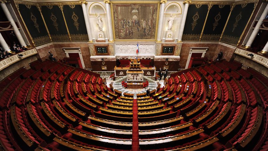Assemblée nationale au Palais Bourbon
