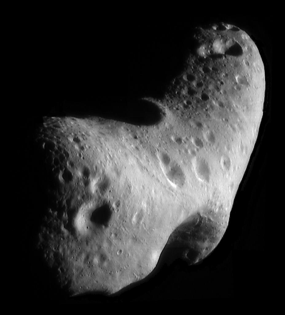 Asteroide Eros - Exposition Météorites, entre ciel et terre au Muséum national d'Histoire Naturelle