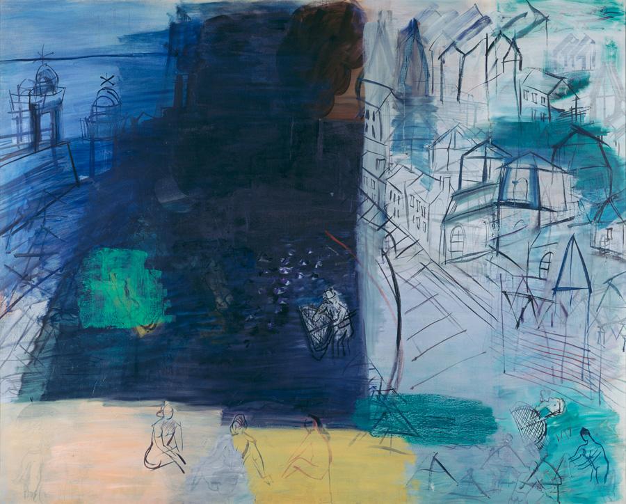 Raoul DUFY, Cargo noir, après 1948, Impression(s) soleil levant, MUMA