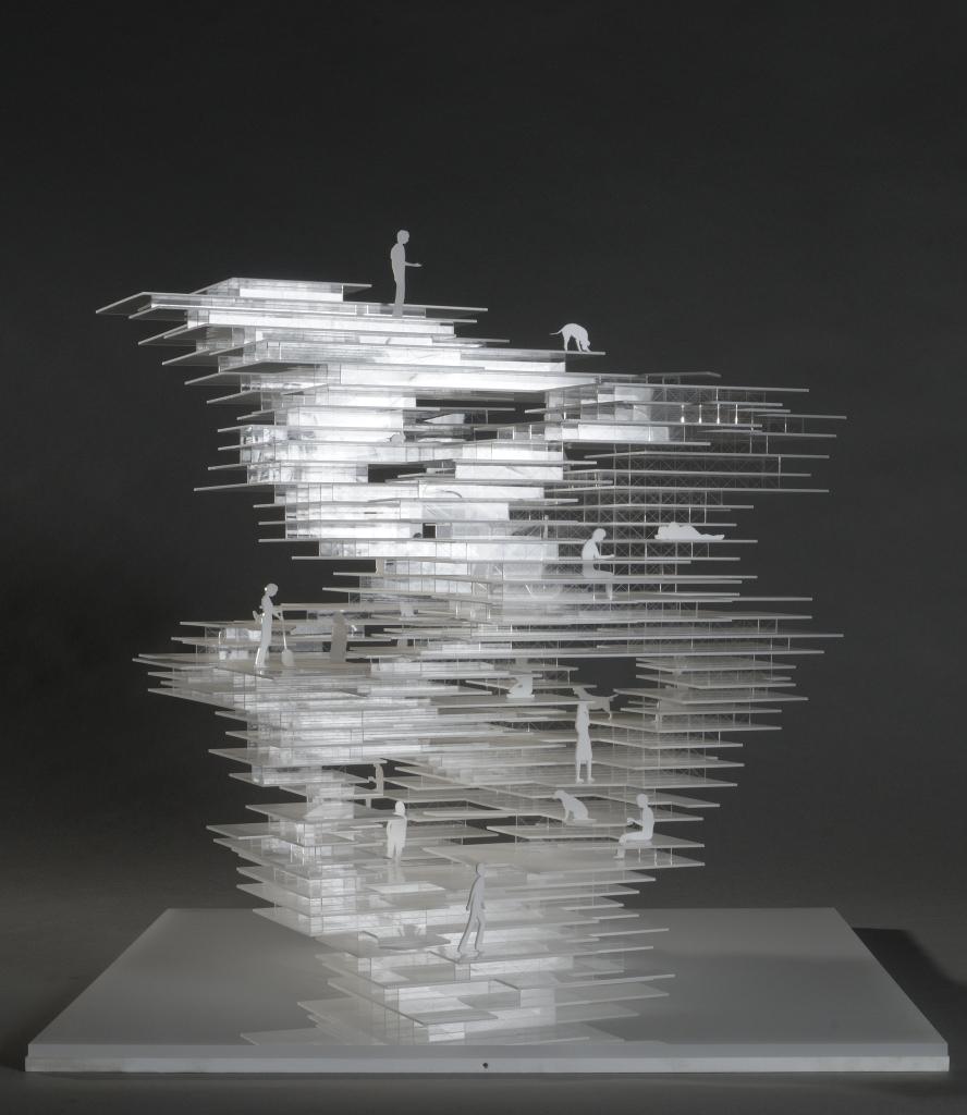 Sou Fujimoto Architects, Primitive Future House (N House), 2003