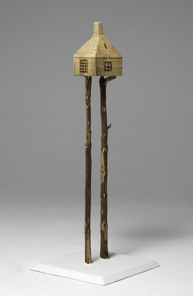 Terunonu Fujimori, Too-high Teahouse, Chino, Préfecture de Nagano, Japon : maquette