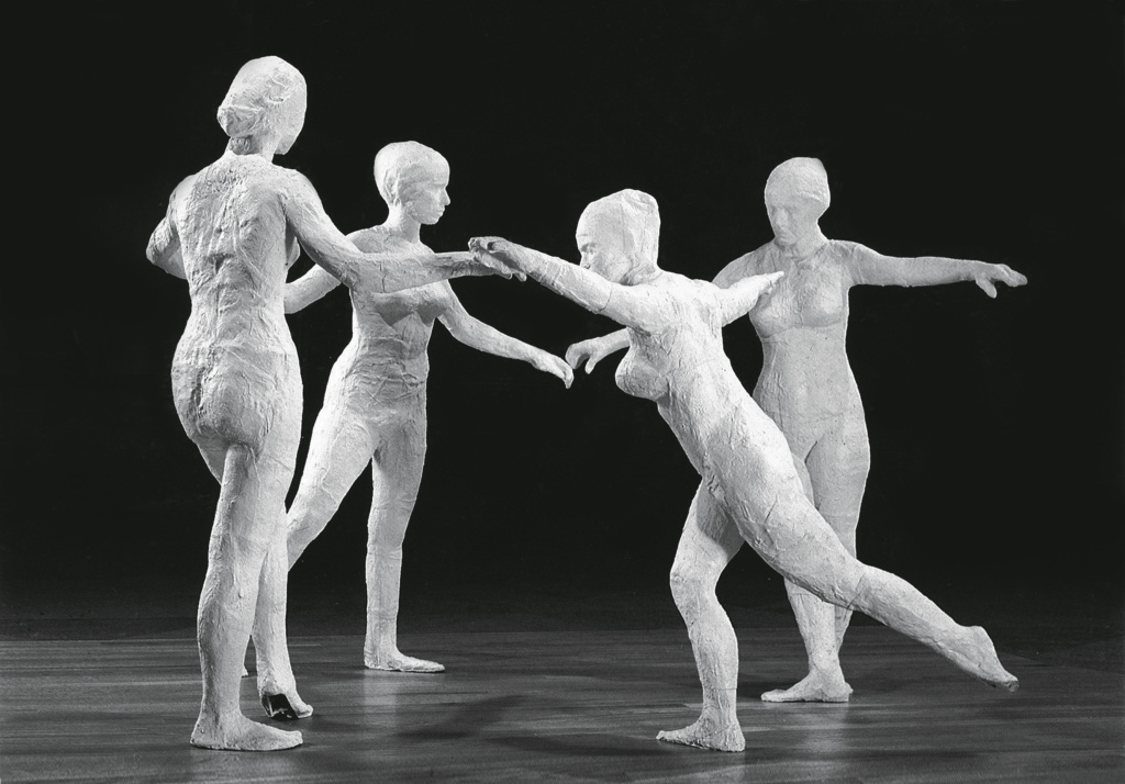 George Segal, The Dancers, 1971 - George Segal à la Galerie Daniel Templon