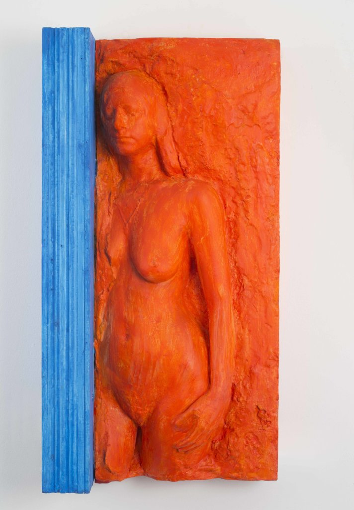 George Segal, Woman Standing Next to Door Jamb, 1977 - George Segal à la Galerie Daniel Templon