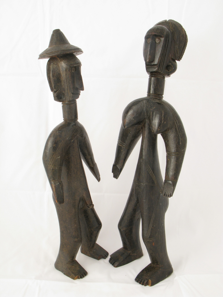 Jomooniw male and female figures, Bamana region, Mali, 19th-early 20th century © collection of Henri Matisse