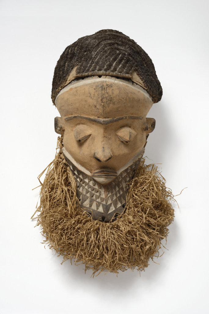 Muyombo mask, Pende region, Democratic Republic of the Congo, 19th-early 20th century © collection of Henri Matisse