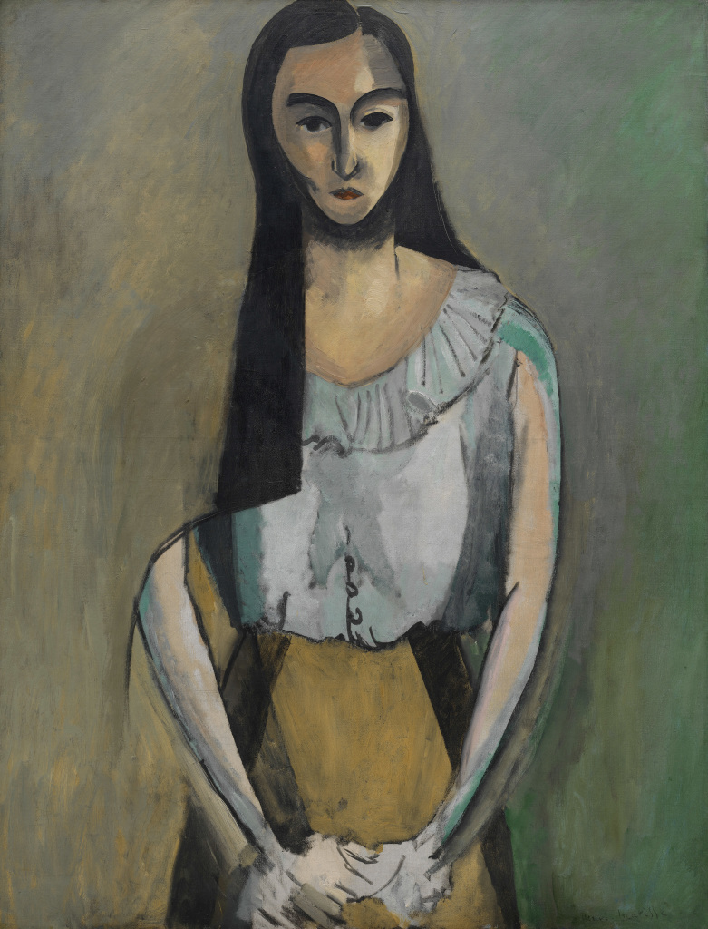 Henri Matisse, The Italian Woman, 1916