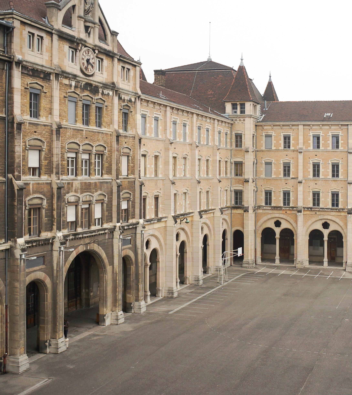 Lycée de Saint-Just à Lyon - Journées européennes du patrimoine 2017