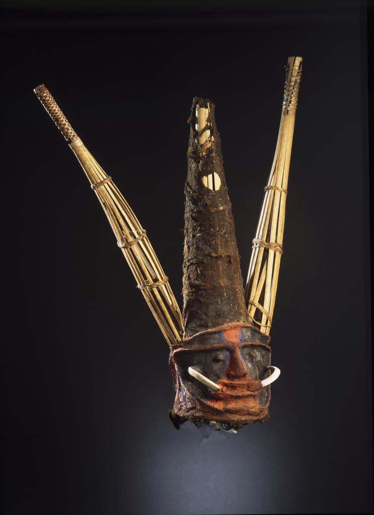 Masque, Vanuatu - Exposition Jack London dans les mers du sud au Centre de la Vieille Charité de Marseille