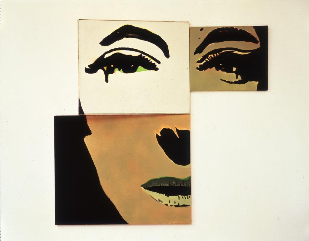 Martial Raysse, Portrait à géometrie variable deuxième possibilité, 1966
