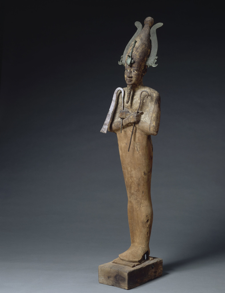 Statue d'Osiris momiforme Égypte 332-30 avant J.-C, Musique ! Louvre Lens